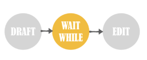 wait while