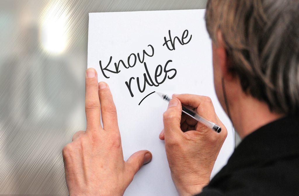 英語ライティングのルール
