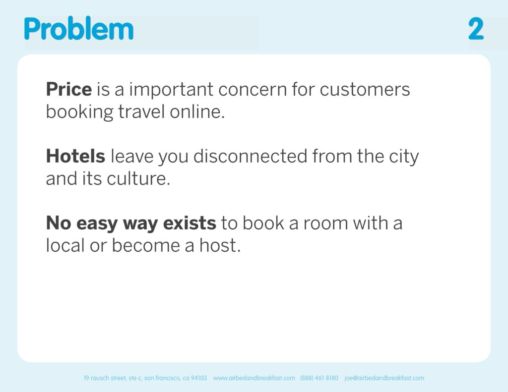 Airbnb Pitchdeck page 2
