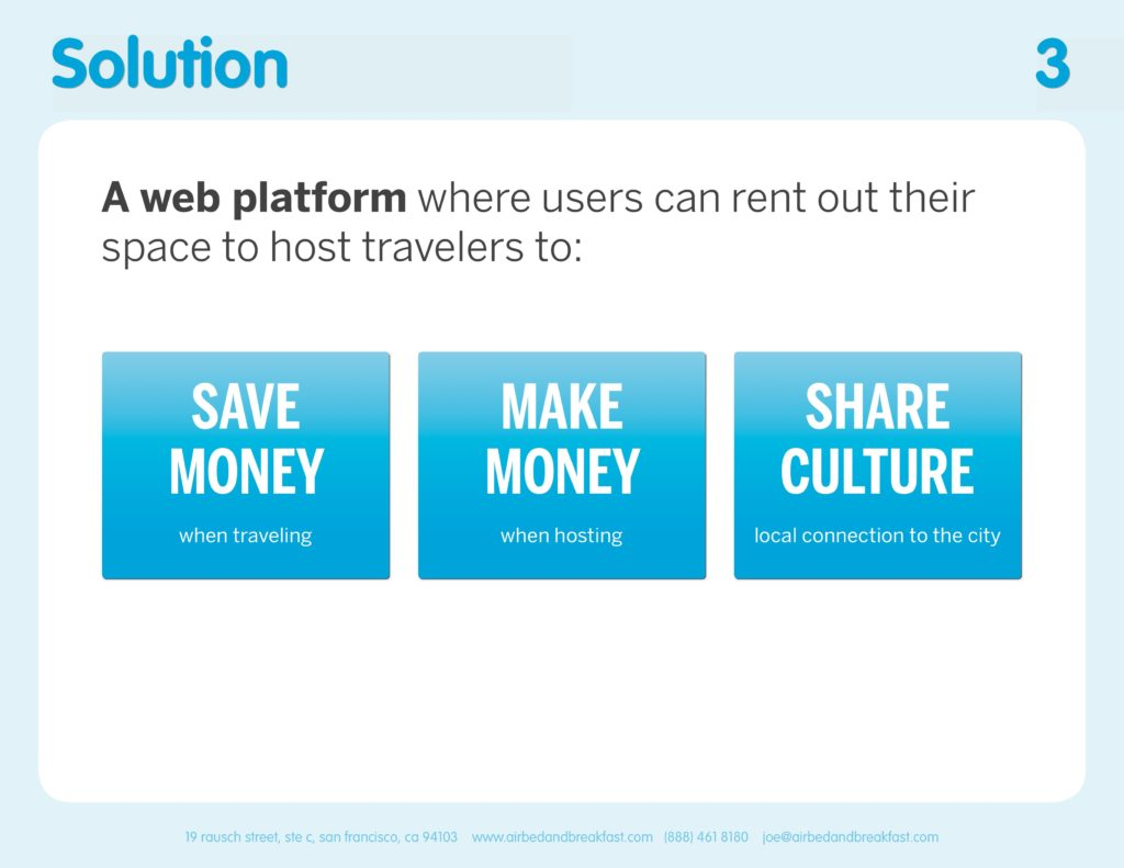 Airbnb Pitchdeck page 3