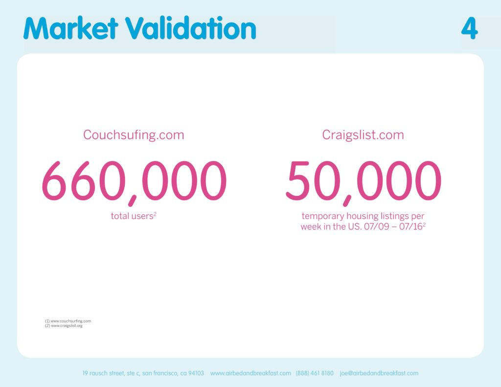 Airbnb Pitchdeck page 4