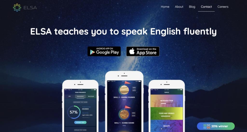 ELSA home page